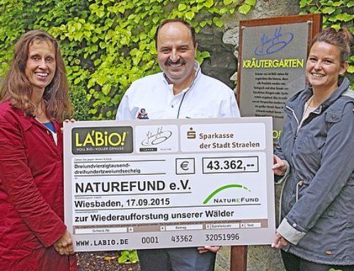43.362 Euro für Naturschutzprojekte